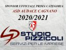 LO STUDIO PIZZICOLI DI SAN SEVERO SPONSOR DELL'AUDACE CAGNANO CALCIO