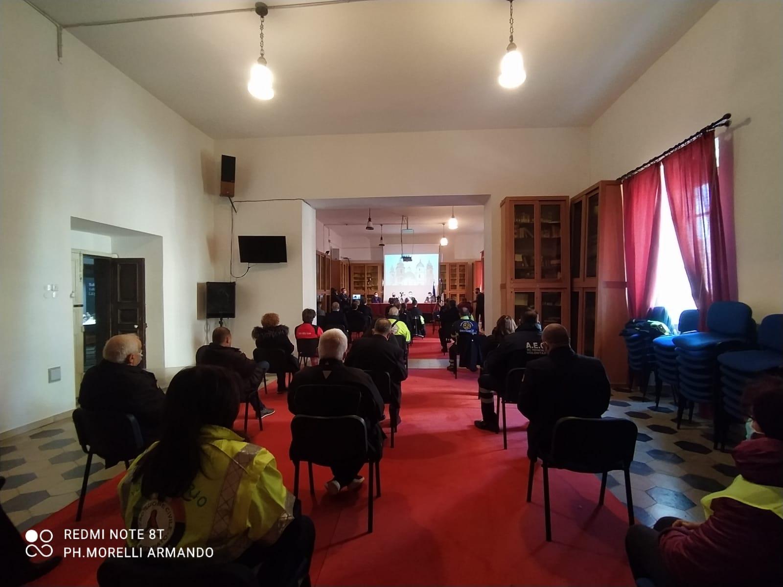 FESTA DI SAN SEBASTIANO. IL BILANCIO DELLE ATTIVITA' DELLA POLIZIA MUNICIPALE PER L'ANNO 2020 E GLI ELOGI CONSEGNATI.