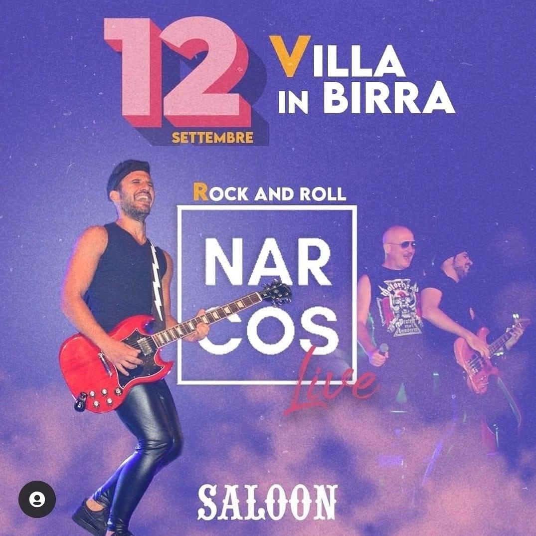 I NARCOS LIVE IN VILLA A TORREMAGGIORE DOMENICA 12 SETTEMBRE